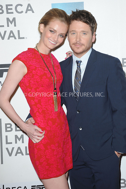 WWW.ACEPIXS.COM . . . . . .April 19, 2013...New York City....Lydia Hearst and Kevin Connolly attend the ESPN and Tribeca Film Festival Screening of Big Shot on April 19, 2013 in New York City. ....Please byline: KRISTIN CALLAHAN - WWW.ACEPIXS.COM.. . . . . . ..Ace Pictures, Inc: ..tel: (212) 243 8787 or (646) 769 0430..e-mail: info@acepixs.com..web: http://www.acepixs.com .
