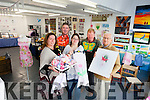 A CRAFTY BUNCH: A new community craft group have opened up a shop in Courthouse Lane in Tralee. Pictured were: Carina Sayers, Brian Fitzgerald, Jessi Hilliard, Dave Clark and Dillon Boyer.