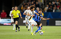 Carson, CA - April 7, 2017: The Los Angeles Galaxy defeated the Montreal Impact 2-0 in a Major League Soccer (MLS) game at StubHub Center.