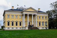 W&ouml;rlitzer Schloss, Parkanlage W&ouml;rlitzer Garten, Sachsen-Anhalt, Deutschland, Europa, UNESCO-Weltkulturerbe<br /> W&ouml;rlitz Palace, W&ouml;rlitz Gardens, Saxony-Anhalt, Germany, Europe, UNESCO-World Heritage