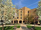 4.14.10: Lewis Hall..Photo by Matt Cashore/University of Notre Dame