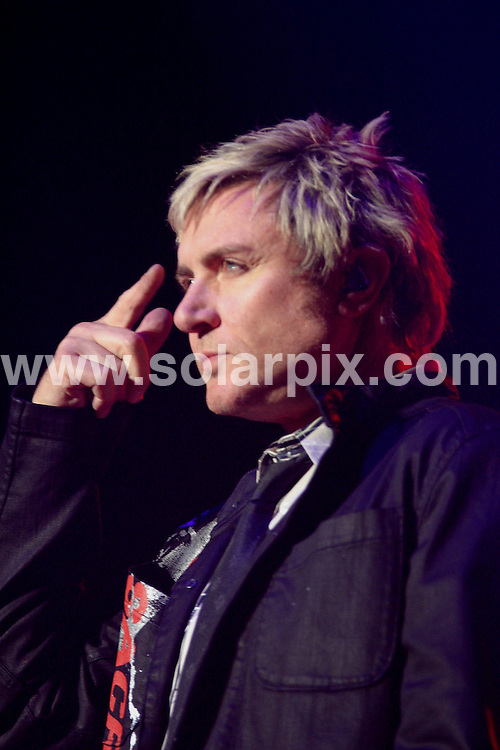 **ALL ROUND PICTURES FROM SOLARPIX.COM**.**WORLDWIDE SYNDICATION RIGHTS**.Duran Duran perform in concert at the NIA, Birmingham, UK. July 7th 2008..Duran Duran are Simon Le Bon, John Taylor, Roger Taylor, Nick Rhodes and Dominic Brown..JOB REF: 6784 NYA     DATE: 07_07_2008.**MUST CREDIT SOLARPIX.COM OR DOUBLE FEE WILL BE CHARGED* *UNDER NO CIRCUMSTANCES IS THIS IMAGE TO BE REPRODUCED FOR ANY ONLINE EDITION WITHOUT PRIOR PERMISSION*