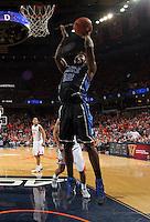 Duke forward Justise Winslow (12) during an ACC basketball game Jan. 31, 2015 in Charlottesville, VA. Duke won 69-63.