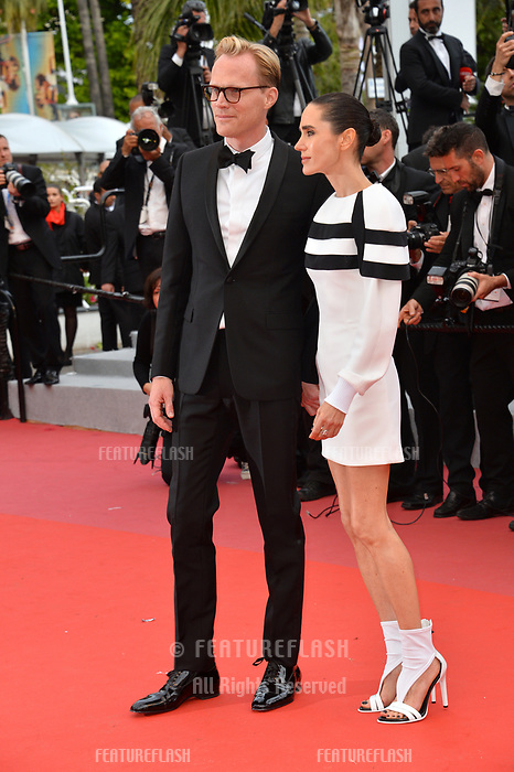 Paul Bettany &amp; Jennifer Connolly at the gala screening for &quot;Solo: A Star Wars Story&quot; at the 71st Festival de Cannes, Cannes, France 15 May 2018<br /> Picture: Paul Smith/Featureflash/SilverHub 0208 004 5359 sales@silverhubmedia.com