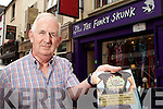 Cathal Walshe Killarney drugs liason comitee chairman outside the Funky Skunk in Killarney on Wednesday..
