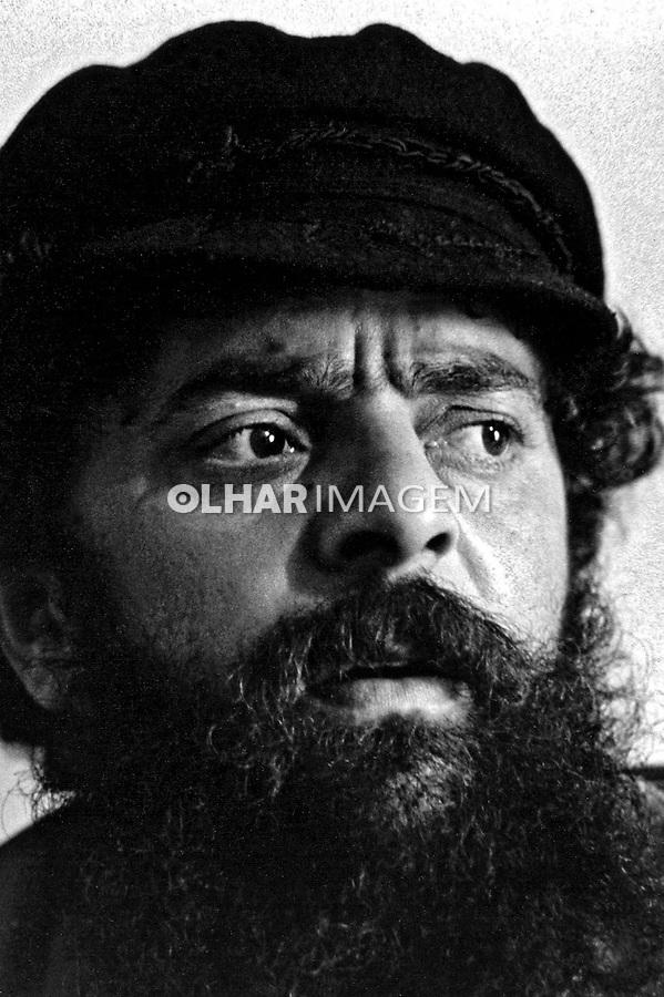 Pessoa. Personalidade. Luis Inácio (Lula) da Silva, sindicalista e político. SP. 1984. Foto de Juca Martins.
