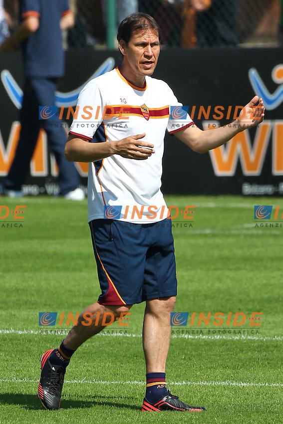 Rudi Garcia <br /> Riscone (Brunico) 13.7.2013 <br /> Football Calcio 2013/2014 Serie A<br /> Ritiro precampionato AS Roma <br /> As Roma pre season training<br /> Foto Gino Mancini / Insidefoto