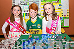 Lisha O'Connor, Josh Dower, Ciara Duggan, Firies at the Kerry Community Games Project Final in the KDYS Denny Street on Friday