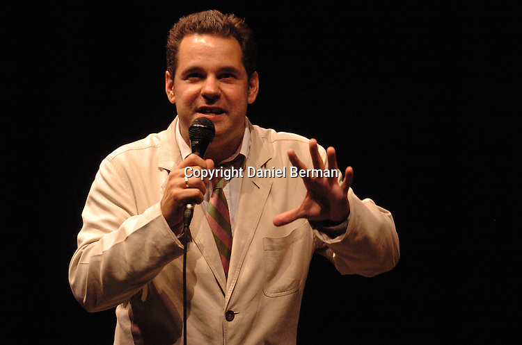 Comedian Paul F. Tompkins performs at the Bumbershoot music festival in Seattle, WA September 4, 2006.