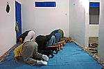 Muçulmanos rezando em mesquita. Fortaleza. Ceara. 2010. Foto de Caio Vilela.