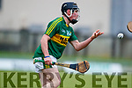 Maurice O'Connor Kerry  in action against  Cork in the Co-op Superstores Munster Senior Hurling League on Sunday 14th January in Austin Stack Park, Tralee.