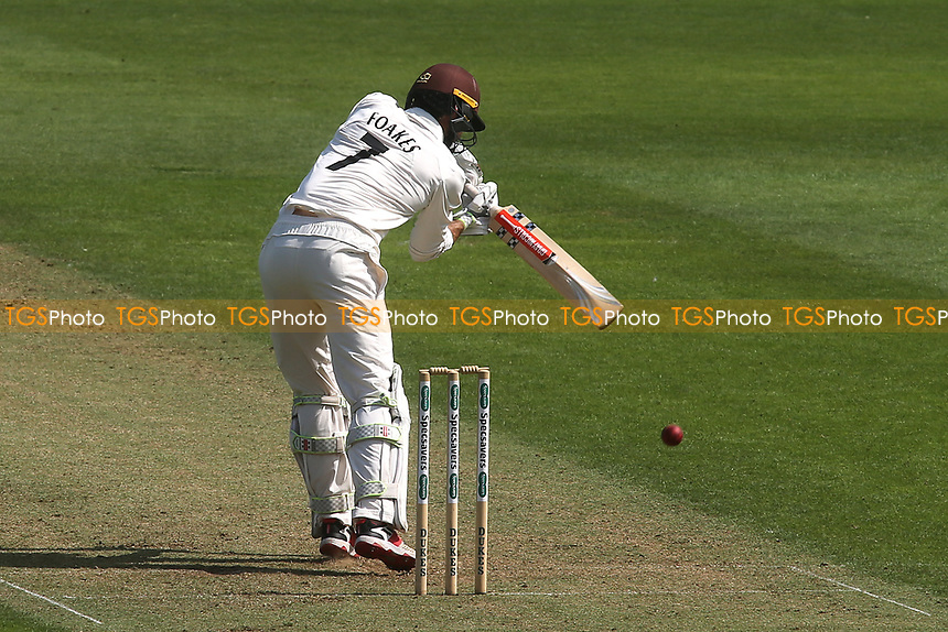 Surrey batsman, Ben Foakes in action during Surrey CCC vs Kent CCC, Specsavers County Championship Division 1 Cricket at the Kia Oval on 7th July 2019