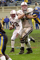 Justin Faust during Stanford's 41-14 win over San Jose State on December 1, 2001 at Spartan Stadium in San Jose, CA.<br />Photo credit mandatory: Gonzalesphoto.com