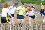 Michael Freemantle Tag rugby Memorial Tournament :  Action from the Michael Freemantle Tag rugby Memorial Tournament held in the Cashen Beach, Ballyduff on Sunday last.