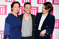 LONDON, UK. January 24, 2019: Andrew Scott, Fiona Shaw &amp; Phoebe Waller Bridge at the &quot;Fleabag&quot; season 2 screening, at the BFI South Bank, London.<br /> Picture: Steve Vas/Featureflash