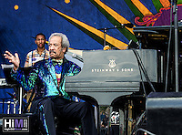 Allen Toussaint at Jazz Fest 2015