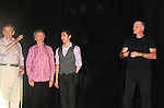 Curtain Call - John Newton, Ducty Reeds, Eric Tsuchiyama and Guiding Light's Robert Newman - a Barn program alum in 1981 - joined in Seasons of Love - A Gala Benefit Concert on August 14, 2010 for the Barn Theatre School for Advanced Theatre Training in Augusta Michigan (Photos by Sue Coflin/Max Photos)