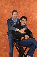 Serge GAINSBOURG et julien Clerc<br /> © MOUILLON/ DALLE