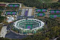 aerial photograph Crandon Tennis Center Key Biscayne Florida