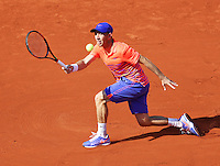 France, Paris , May 27, 2015, Tennis, Roland Garros, Dudi Sela (ISR)<br /> Photo: Tennisimages/Henk Koster