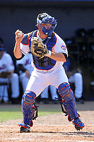 New York Mets Dusty Ryan #62 during an exhibition game vs the Michigan Wolverines at Digital Domain Ballpark in Port St. Lucie, Florida;  February 27, 2011.  New York defeated Michigan 7-1.  Photo By Mike Janes/Four Seam Images