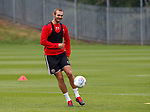 James Hanson of Sheffield Utd during the training session at the Shirecliffe Training complex, Sheffield. Picture date: June 27th 2017. Pic credit should read: Simon Bellis/Sportimage