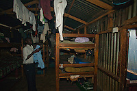 Nairobi, June 2010-sleeping quarters on the second floor of this Silome fellowship ministry Academy.