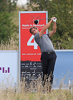 Robert Rock (ENG) on the 4th tee during Round 4 of Made in Denmark at Himmerland Golf &amp; Spa Resort, Farso, Denmark. 27/08/2017<br /> Picture: Golffile | Thos Caffrey<br /> <br /> All photo usage must carry mandatory copyright credit     (&copy; Golffile | Thos Caffrey)