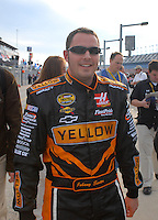 Feb 11, 2007; Daytona, FL, USA; Nascar Nextel Cup driver Johnny Sauter (70) during qualifying for the Daytona 500 at Daytona International Speedway. Mandatory Credit: Mark J. Rebilas