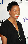 Aisha Tyler arriving at the Paleyfest LA 2015 presents The Flash held at The Dolby Theatre Los Angels Ca. on March 14, 2015
