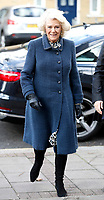 06 February 2019 - Camilla Duchess of Cornwall during a visit to St John's Angell Town Church of England Primary School  in London. Photo Credit: ALPR/AdMedia