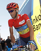 Alberto Contador before the stage of La Vuelta 2012 beetwen Penafiel-La Lastrilla.September 7,2012. (ALTERPHOTOS/Acero) /NortePhoto.com<br /> <br /> **CREDITO*OBLIGATORIO** *No*Venta*A*Terceros*<br /> *No*Sale*So*third* ***No*Se*Permite*Hacer Archivo***No*Sale*So*third
