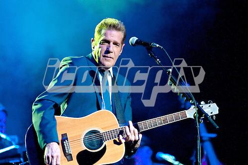 GLENN FREY - Glenn Frey performing live at The Wiltern Theatre in Los Angeles, CA USA - May 26, 2012.  Photo © Kevin Estrada / Iconicpix