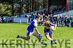 Tadgh McEllistrim (Shannon Rangers)  in action against Donal O Sullivan Down(Kenmare District) played in Templenoe on Sunday