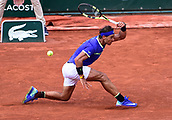June 11th 2017, Roland Garros, paris, France; French Open tennis championship, mens singles final; Rafael Nadal versus Stan Wawrinka; Rafael Nadal (esp)