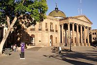 The Teatro de La Paz in the city of San Luis de Potosi, Mexico