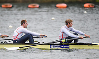 Caversham. Berkshire. UK<br /> GBR M4-. Left George NASH and Constantine LOULOUDIS.<br /> 2016 GBRowing European Team Announcement,  <br /> <br /> Wednesday  06/04/2016 <br /> <br /> [Mandatory Credit; Peter SPURRIER/Intersport-images]