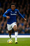 Alex Iwobi of Everton during the Premier League match at Goodison Park, Liverpool. Picture date: 7th December 2019. Picture credit should read: Simon Bellis/Sportimage