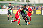 Stoke City vs HKFA U-21 during the Main tournament of the HKFC Citi Soccer Sevens on 22 May 2016 in the Hong Kong Footbal Club, Hong Kong, China. Photo by Lim Weixiang / Power Sport Images