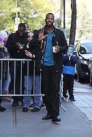NEW YORK, NY November 23: Calvin Johnson Jr. of Dancing with Stars 2016 at the View in New York City.November 23, 2016. Credit:RW/MediaPunch