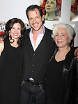 Maggie Lacey & Darren Pettie & Olympia Dukakis.attending the After Party for the Off-Broadway Roundabout Theatre Company Production of  'The Milk Train Doesn't Stop Here Anymore' at the Laura Pels Theatre in New York City..