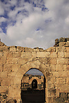 Israel, Lower Galilee, Crusader fortress Belvoir