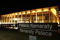 BRASÍLIA, DF, 01.07.2019 - POLÍTICA-DF - Palácio do Itamaraty, sede do Ministério das Relações Exteriores, visto na noite desta segunda-feira, 1. ( Foto Charles Sholl/Brazil Photo Press)