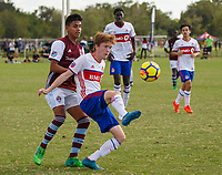 LAKEWOOD RANCH, FL: 2017 Development Academy Winter Showcase & Nike International Friendlies at Premier Sports Campus in Lakewood Ranch, Fla., on December 3, 2017. (Photo by Casey Brooke Lawson)