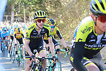 Simon Yates (GBR) Mitchelton-Scott near the end of Stage 4 of the Volta Ciclista a Catalunya 2019 running 150.3km from Llanars (Vall De Camprodon) to La Molina (Alp), Spain. 28th March 2019.<br /> Picture: Colin Flockton | Cyclefile<br /> <br /> <br /> All photos usage must carry mandatory copyright credit (© Cyclefile | Colin Flockton)