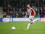 Sheffield United's Kieron Freeman in action during the League One match at the Kingsmeadow Stadium, London. Picture date: September 10th, 2016. Pic David Klein/Sportimage