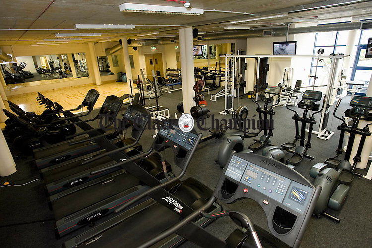 The interior of Ozone Health and Fitness. Photograph by John Kelly.