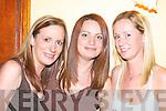 FRIENDS: Liz McAuliffe, Brosna, Marie Murphy, Brosna, and Sinead.Collins, Abbeyfeale, enjoying the craic at the Con Curtin Festival.
