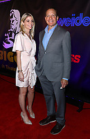Emily Smith, Steve Guttenberg at the BIGGER World Premiere, Orleans Arena, Las Vegas, Nevada, USA, September 13th, 2018.<br /> CAP/ADM/MJT<br /> &copy; MJT/ADM/Capital Pictures