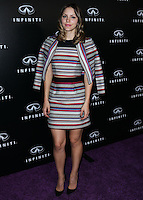 BEVERLY HILLS, CA, USA - OCTOBER 09: Singer Katharine McPhee arrives at the Infiniti Beverly Hills Grand Opening Launch Party held at Infiniti Beverly Hills on October 9, 2014 in Beverly Hills, California, United States. (Photo by Xavier Collin/Celebrity Monitor)